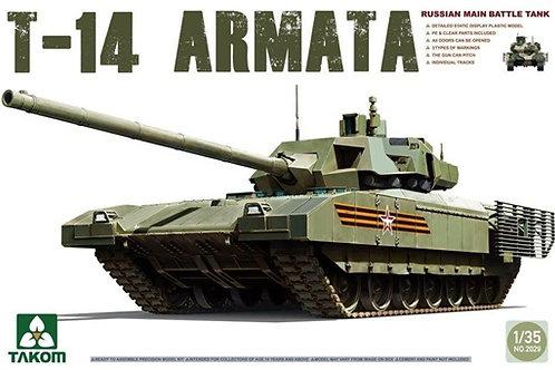 Российский танк Т-14 Армата - Takom 2029 1:35 / T-14 Armata