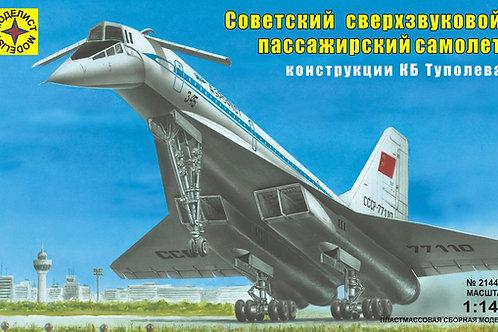Советский самолет Ту-144 - Моделист 214478 1/144