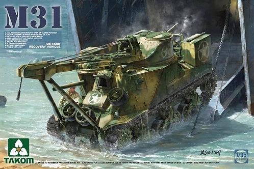 Американская БРЭМ M31 US Tank Recovery Vehicle - Takom 1:35 2088