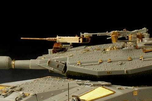 Пулемет для израильской Меркавы / Merkava Mk.3 - VBS0206 Voyager Model 1/35