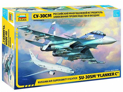 Звезда 7314 1/72 Российский истребитель СУ-30СМ Flanker-H