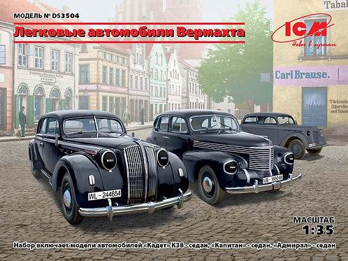 ICM DS3504 Легковые автомобили Вермахта 1:35
