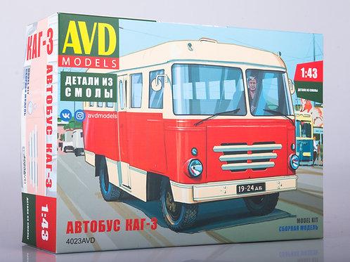 Сборная модель Автобус КАГ-3 - AVD Models 1:43 4023AVD 4023