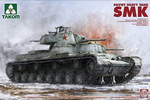Сборная модель Советский танк СМК - Takom 2112 1:35