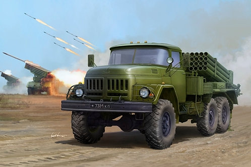 Советская боевая машина БМ-21 Град - Trumpeter 01032 1:35