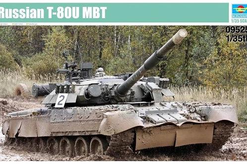 Советский танк Т-80У - Trumpeter 1:35 09525