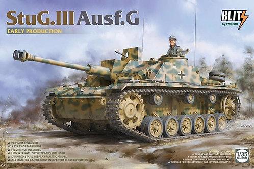 Немецкая самоходка StuG III Ausf.G Early Production - Takom 1:35 8004