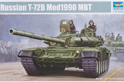 Советский танк Т-72Б мод. 1990 года - Trumpeter 1:35 05564
