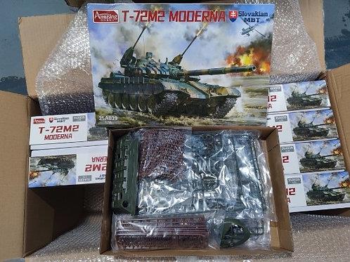 (в пути) Словацкий Т-72М2, Slovakian T-72M2 Moderna AMUSING HOBBY 35A039 1:35