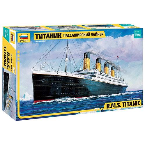 Звезда 9059 1/700 Пассажирский лайнер Титаник