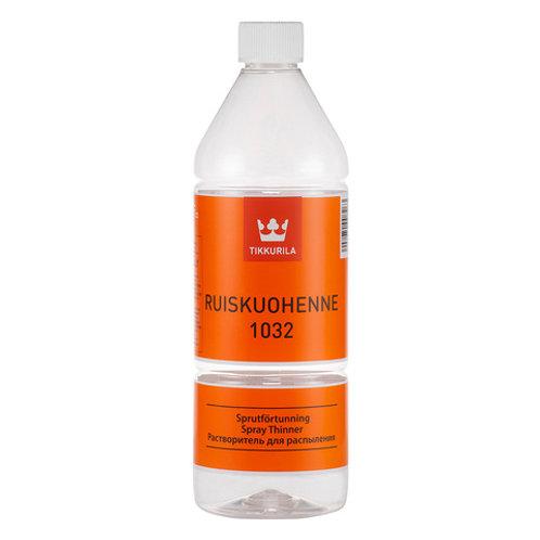 Растворитель для краски, финский уайт-спирит без запаха 1032 Tikkurila 1 литр