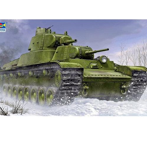 (анонс) Советский танк Т-100 - Trumpeter 1:35 09590
