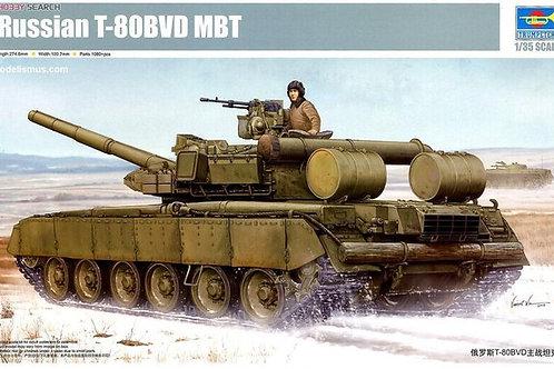 Советский танк Т-80БВД - Trumpeter 05581 1:35