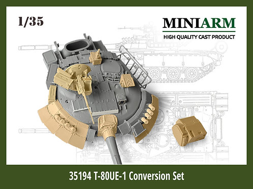 Miniarm B35194 1/35 Конверсионный набор Т-80УЕ-1 (RPG, Xact, Trumpeter)