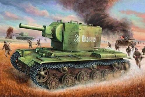 Советский танк КВ-2 - Trumpeter 00312 1:35