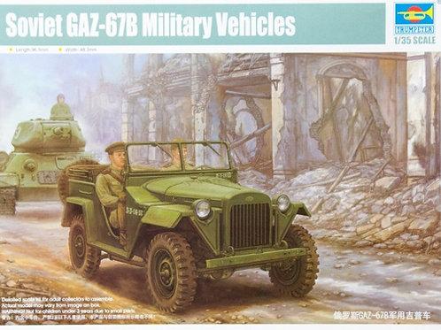 Советский внедорожник ГАЗ-67Б - Trumpeter 1:35 02346