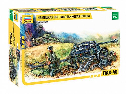 3506 Звезда 1/35 Немецкая противотанковая пушка ПАК-40