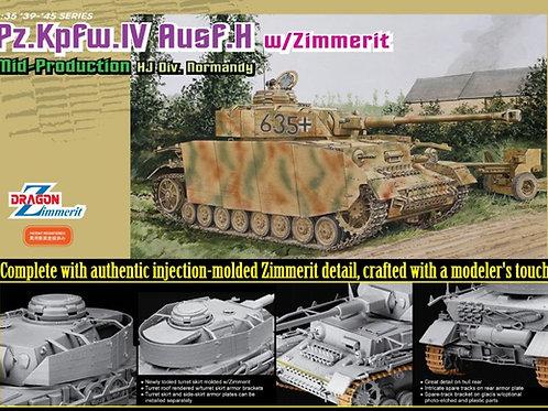 (под заказ) Pz.Kpfw.IV Ausf.H Mid-Production w/Zimmerit - Dragon 1:35 6611