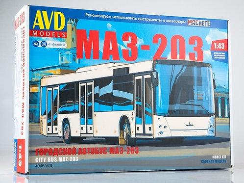 Автобус МАЗ-203 - 4045AVD AVD Models 1/43
