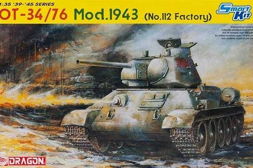 Огнеметный танк Т-34/76 мод. 1943, завод № 112 - Dragon 1:35 6614