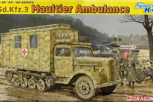 """Мул"" санитарная машина Sd.Kfz.3 Maultier Ambulance - 6766 Dragon 1/35"
