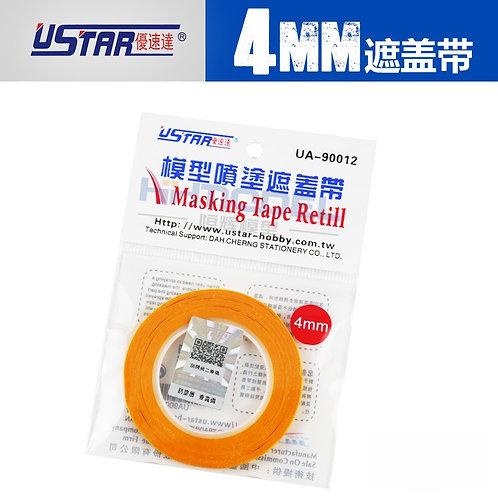 0,4 см U-STAR Маскировочная лента скотч модельный, ширина 4 мм