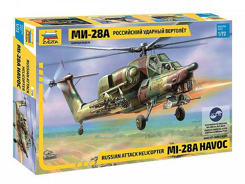 7246 Звезда 1/72 Российский ударный вертолет Ми-28А (Havoc)