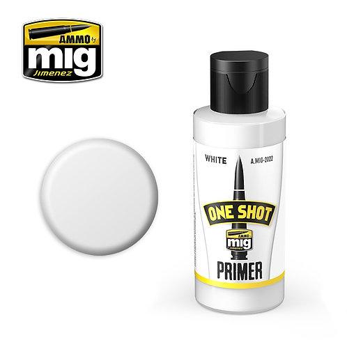Ammo Mig A.MIG-2022 Грунтовка белая ONE SHOT PRIMER - WHITE