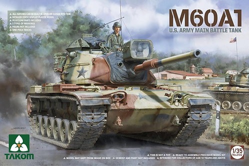 (В ПУТИ! Спец цена) Американский Паттон M60A1 Patton - Takom 1:35 2132