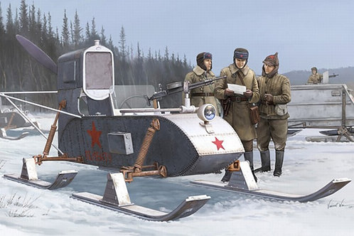 Советские боевые аэросани РФ-8 / Горький-98 - 02322 Trumpeter 1:35