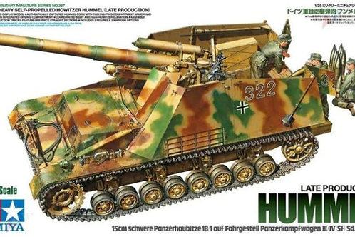 Немецкая САУ Хуммель Hummel, поздний выпуск - Tamiya 1:35 35367
