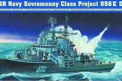 Российский корабль Современный проекта 956Э - Trumpeter 04515 1:350
