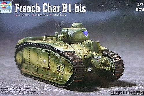 (под заказ) Французский танк Char B1 bis - Trumpeter 1:72 07263