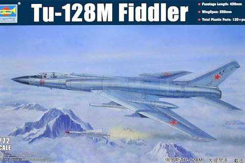 Советский самолет Ту-128 М, Tu-128M Fiddler - Trumpeter 1:72 01687