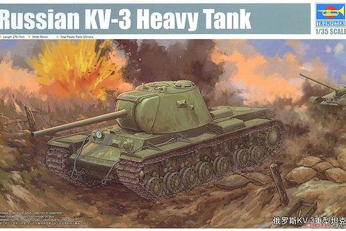 Советский танк КВ-3 - Trumpeter 09544 1/35