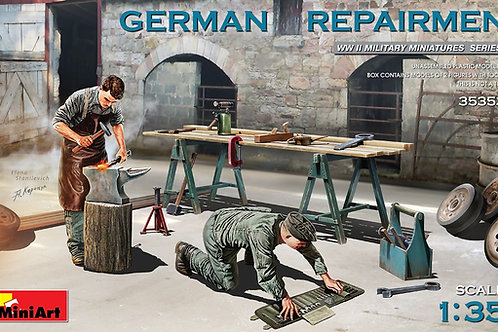 (под заказ) Немецкие ремонтники, German Repairmen - MiniArt 1:35 35353