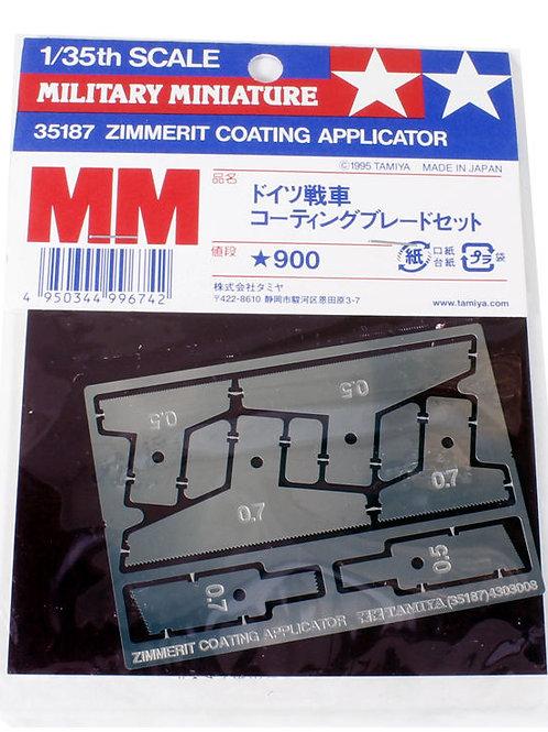 Мастерки для нанесения циммерита, 6 шт - Tamiya 35189