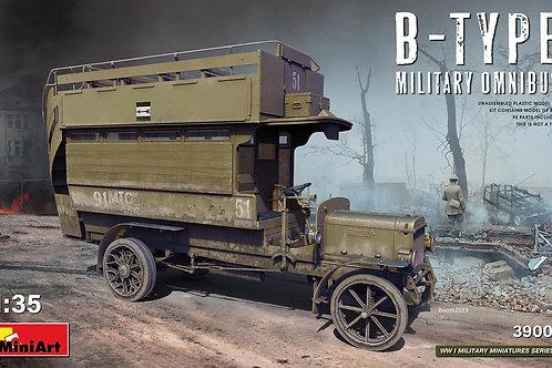 "MiniArt 39001 1/35 Военный автобус тип ""Б"" ""Омнибус"" OMNIBUS MILITARY"
