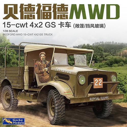 35GM0025 Bedford MWD 15-cwt 4x2 Open Cab Truck - Gecko Models 1:35