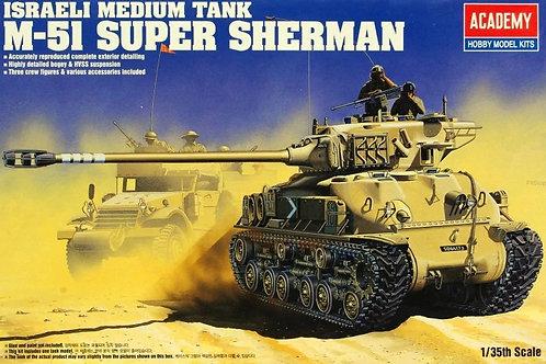 Израильский танк M51 Super Sherman - Academy 1:35 13254