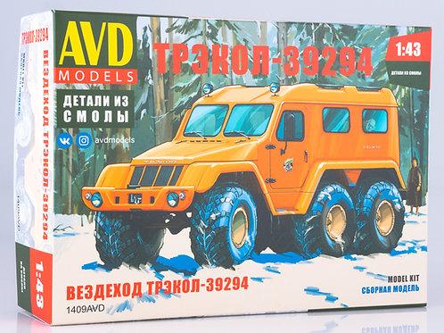 Сборная модель Вездеход ТРЭКОЛ-39294 - AVD 1409AVD 1/43