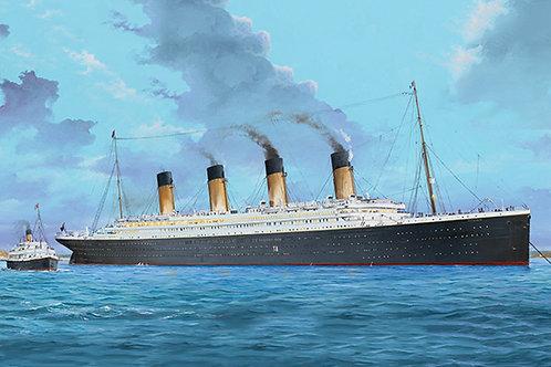 Корабль Титаник (+ светодиоды), Titanic with LED's - Trumpeter 1:200 03719