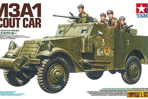 Советский бронетранспортер M3A1 Scout Car (Скаут, ленд-лиз) - Tamiya 35363 1:35