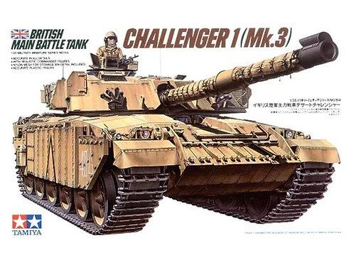 Британский танк Челленджер Challenger 1 Mk.3 - Tamiya 1:35 35154