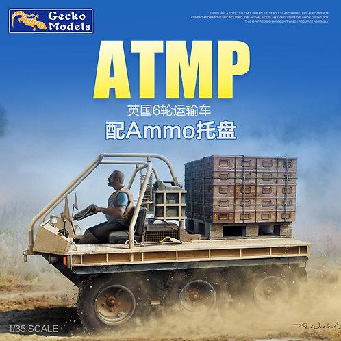 British ATMP w\Ammo Pallet - Gecko Models 1:35 35GM0017