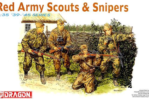 (п/заказ) Dragon 1:35 6068 Советские снайперы и разведчики