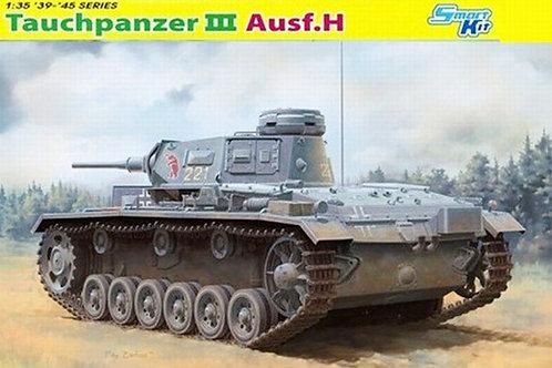 Подводный танк Tauchpanzer Pz.Kpfw.III (T) Ausf.H - Dragon 1:35 6775