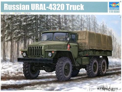 Российский грузовик Урал-4320 - Trumpeter 01012 1/35