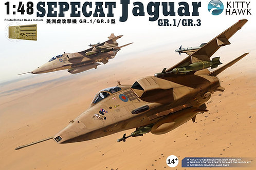 Самолет Jaguar GR.1/GR.3 - Kitty Hawk 1:48 KH80106