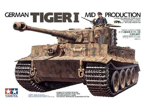Немецкий танк Тигр основная серия, Tiger I Mid Production - Tamiya 1:35 35194